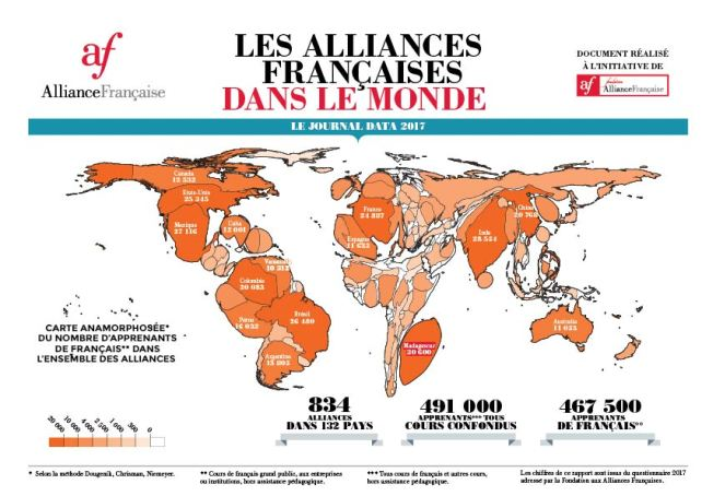 Alliance francaise dans le monde
